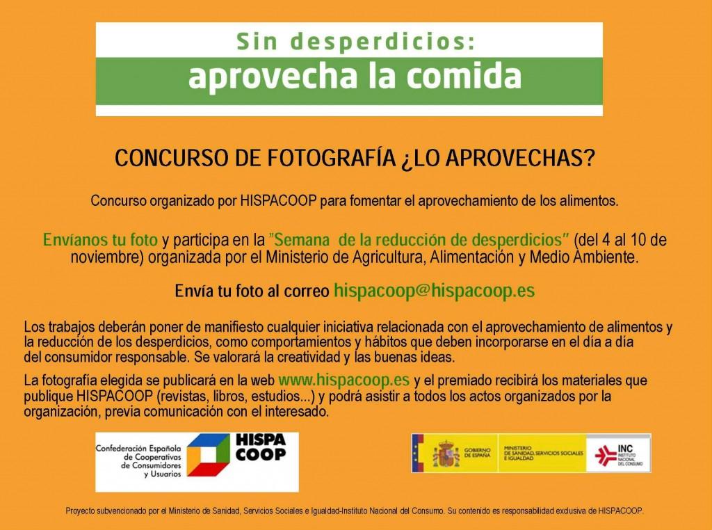 CONCURSO DE FOTOGRAFIA HISPACOOP